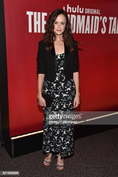 Actress Alexis Bledel attends the FYC event for Hulu's 'The Handmaid's Tale' at the DGA Theater on August 14 2017 in Los Angeles California