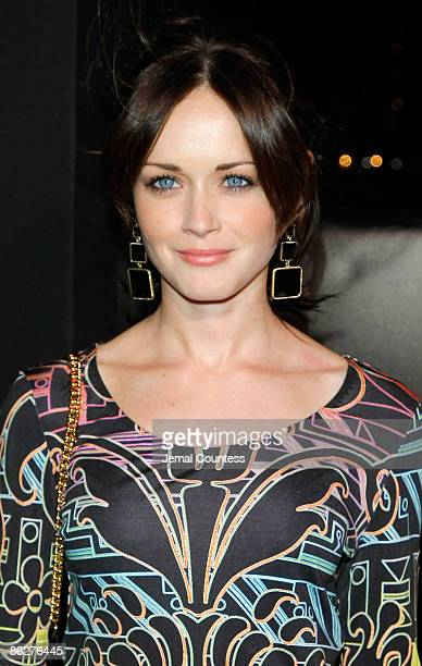 Actress Alexis Bledel attends the launch of the Matthew Williamson for HM collection aboard The Majesty on April 28 2009 in New York City