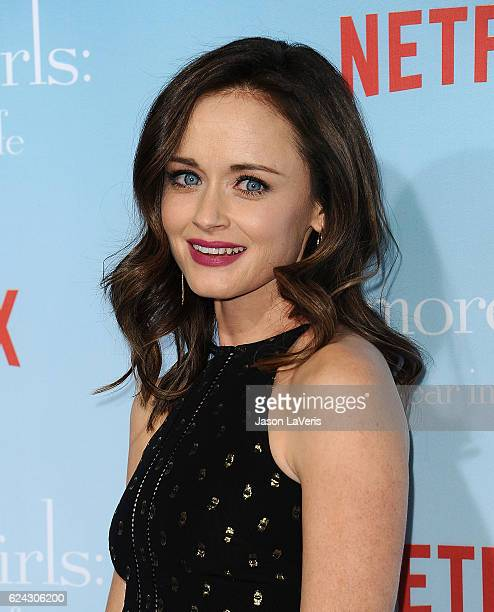 Actress Alexis Bledel attends the premiere of 'Gilmore Girls A Year in the Life' at Regency Bruin Theatre on November 18 2016 in Los Angeles...