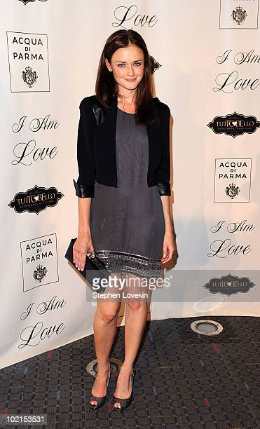 Actress Alexis Bledel attends the premiere of I Am Love at the School of Visual Arts Theater on June 16 2010 in New York City