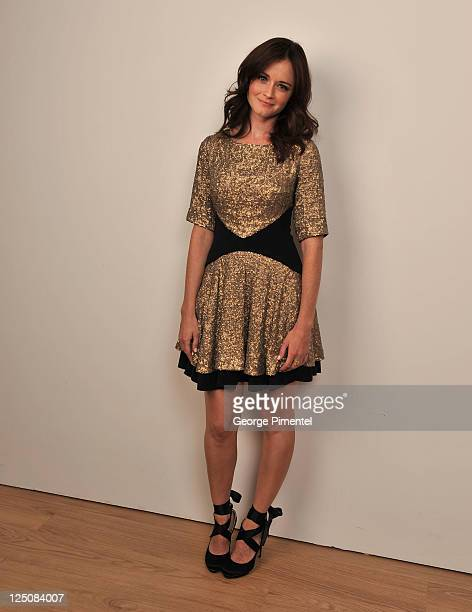 Actress Alexis Bledel of Violet Daisy poses for a portrait during the 2011 Toronto International Film Festival in the Guess Portrait Studio on...