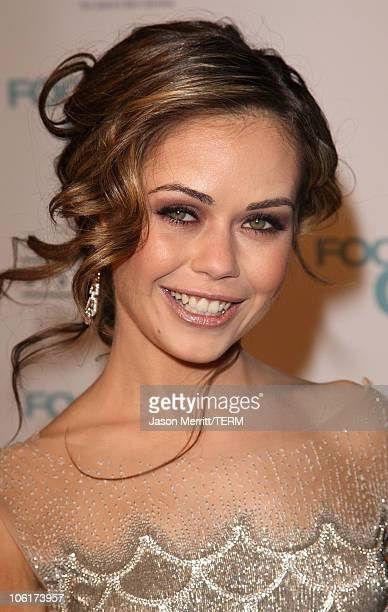 Actress Alexis Dziena arrives at the Los Angeles Premiere Fool's Gold at the Grauman's Chinese Theater on January 30 2008 in Hollywood California