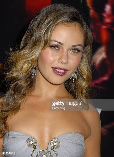 Actress Alexis Dziena arrives at the premiere of 'Nick Norah's Infinite PLaylist' held at ArcLight Cinemas on October 2 2008 in Hollywood California