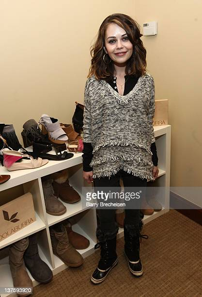 Actress Alexis Dziena attends Day 3 of Kari Feinstein's Style Lounge on January 22 2012 in Park City Utah
