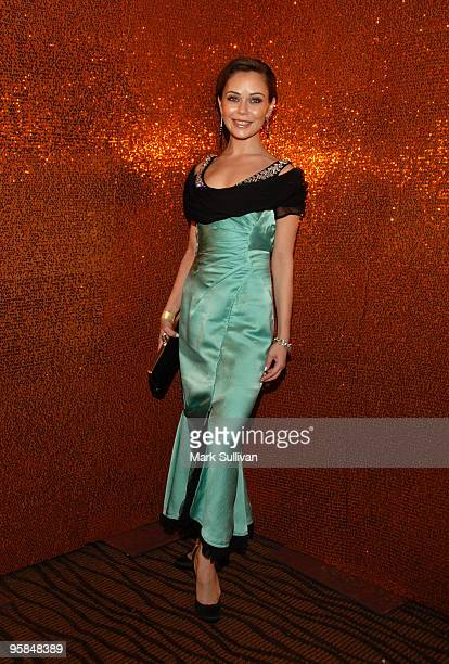 Actress Alexis Dziena attends HBO's Post 67th Annual Golden Globes party at Circa 55 Restaurant on January 17 2010 in Beverly Hills California
