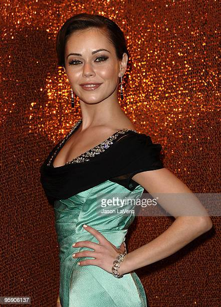 Actress Alexis Dziena attends the official HBO after party for the 67th annual Golden Globe Awards at Circa 55 Restaurant at the Beverly Hilton Hotel...