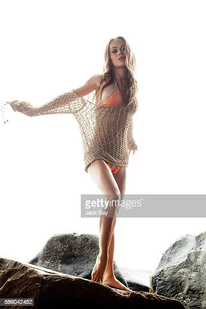 Actress Alexis Dziena is photographed for 944 Magazine in 2009 in Los Angeles California PUBLISHED IMAGE