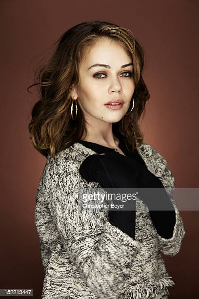 Actress Alexis Dziena is photographed for Entertainment Weekly Magazine at Sundance Film Festival on January 25 2012 in Park City Utah
