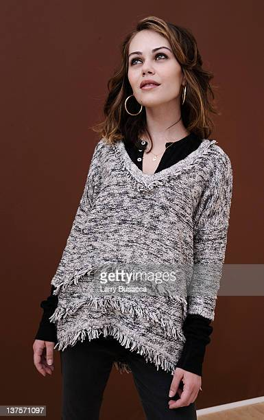 Actress Alexis Dziena poses for a portrait during the 2012 Sundance Film Festival at the Getty Images Portrait Studio at TMobile Village at the Lift...