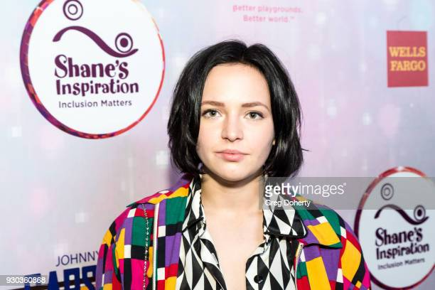 Actress Alexis G Zall attends the Shane's Inspiration's 20th Anniversary Gala at Vibiana on March 10 2018 in Los Angeles California