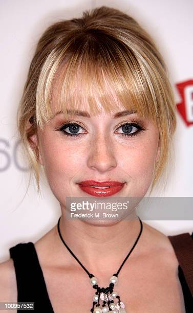 Actress Alexis Grace attends the Ubisoft video launch of 'Prince of Persia The Forgotten Sands' at the Mondrian Hotel's Skybar on May 25 2010 in Los...