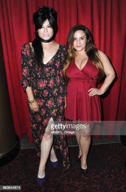 Actress Alexis Iacono and director Caitlin Kazepis attend the 40th Anniversary Screening Of 'The Deer Hunter' held at Ahrya Fine Arts Movie Theater...