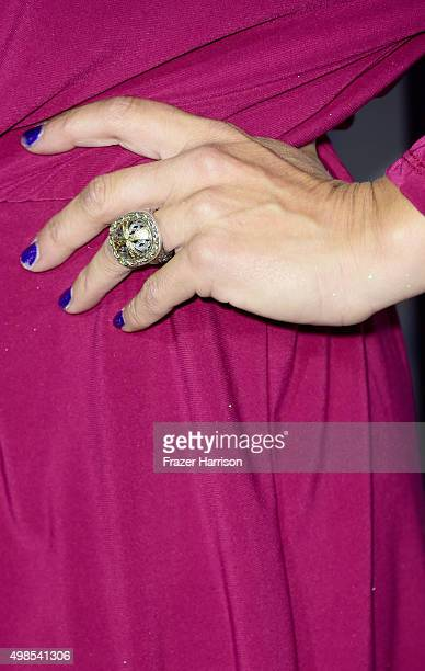 Actress Alexis Iacono attends a Screening Of Columbia Pictures' 'Concussion' at Regency Village Theatre on November 23 2015 in Westwood California