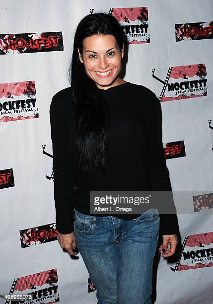 Actress Alexis Iacono attends the ShockFest Film Festival Awards held at Raleigh Studios on January 11 2014 in Los Angeles California