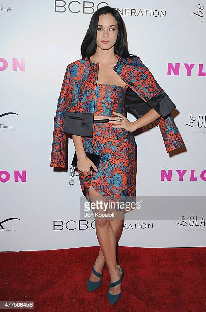 Actress Alexis Knapp arrives at NYLON Magazine And BCBGeneration Annual May Young Hollywood Issue Party Hosted By May Cover Star Dakota Fanning at...