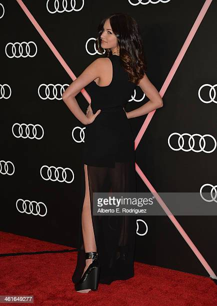 Actress Alexis Knapp arrives to Audi Celebrates Golden Globes Weekend at Cecconi's Restaurant on January 9 2014 in Los Angeles California