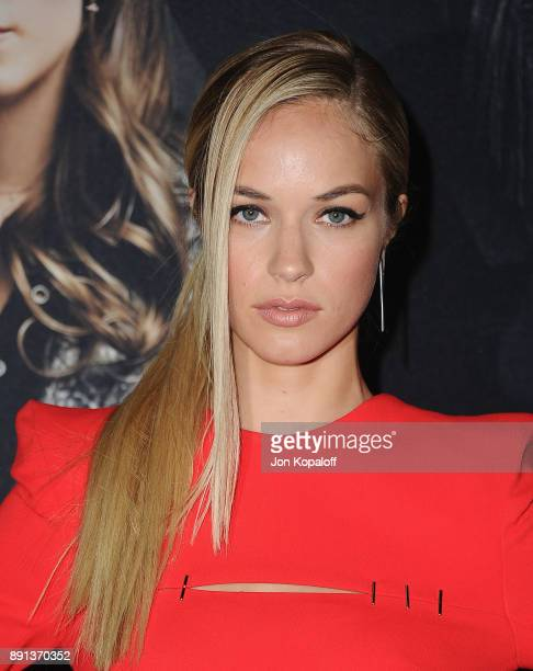 Actress Alexis Knapp attends the Los Angeles Premiere 'Pitch Perfect 3' at the Dolby Theatre on December 12 2017 in Hollywood California