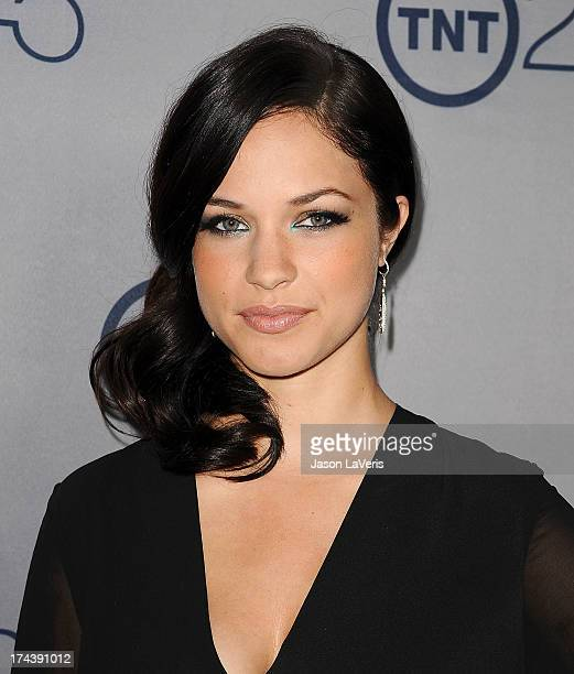 Actress Alexis Knapp attends TNT's 25th anniversary party at The Beverly Hilton Hotel on July 24 2013 in Beverly Hills California
