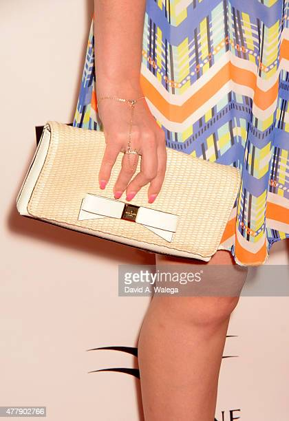 Actress Alexis Nolan attends the 'Pernicious' premiere at Arena Cinema Hollywood on June 19 2015 in Hollywood California