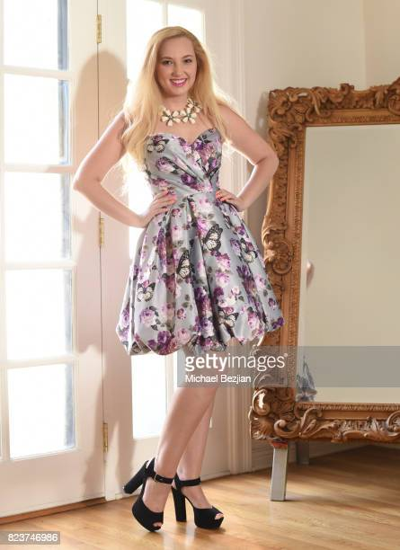 Actress Alexis Nolan is styled by George Blodwell at The Artists Project TAP Style House on July 26 2017 in Los Angeles California