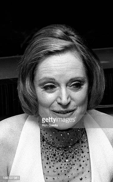 Actress Alexis Smith attending 'A Musical Tribute to Stephen Sondheim' on March 11 1973 at the Shubert Theater in New York City New York