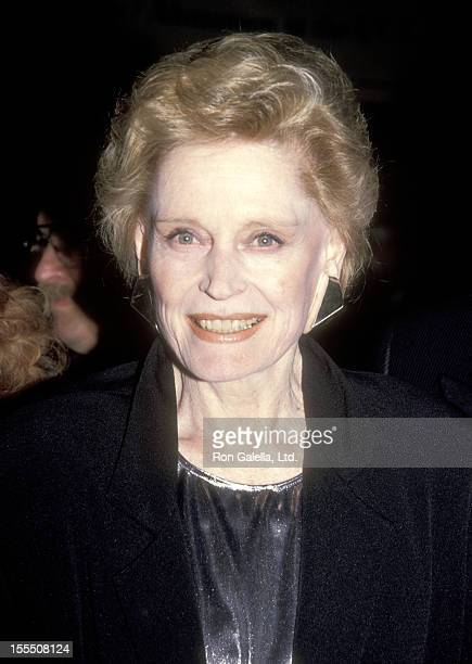 Actress Alexis Smith attends the Little Night Music Opening Night Performance on April 18 1991 at James A Doolittle Theatre in Hollywood California