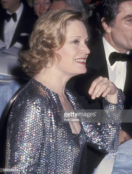 Actress Alexis Smith attends The National Academy of Television Arts and Sciences New York Chapter Presents A Salute to Sir Lew Grade on April 18...