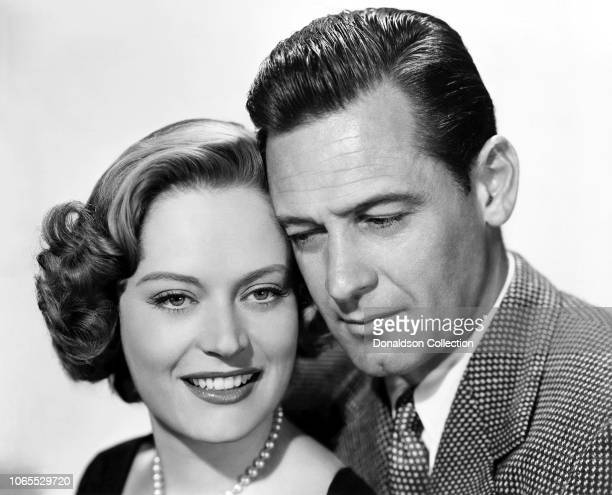 Actress Alexis Smith William Holden in a scene from the movie 'The Turning Point'