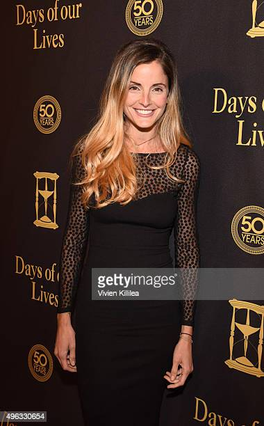 Actress Alexis Thorpe attends the Days Of Our Lives' 50th Anniversary Celebration at Hollywood Palladium on November 7 2015 in Los Angeles California