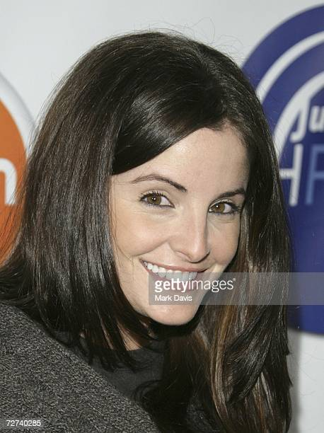 Actress Alexis Thorpe attends the Hollywood Radio Television Society's Young Hollywood party held at the Vanguard on December 5 2006 in Los Angeles...
