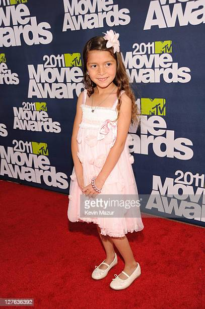 Actress Alexys Nycole Sanchez arrives at the 2011 MTV Movie Awards at Universal Studios' Gibson Amphitheatre on June 5 2011 in Universal City...