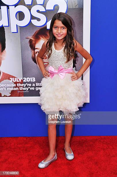 Actress Alexys Nycole Sanchez attends the 'Grown Ups 2' New York Premiere at AMC Lincoln Square Theater on July 10 2013 in New York City