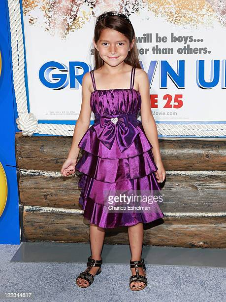 Actress Alexys Nycole Sanchez attends the premiere of 'Grown Ups' at the Ziegfeld Theatre on June 23 2010 in New York City