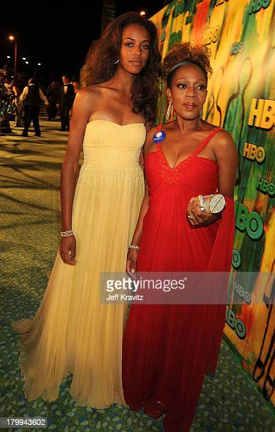 Actress Alfre Woodard and daughter Mavis Spencer attend HBO's Post Award Reception after the 60th Primetime Emmy Awards at the Pacific Design Center...
