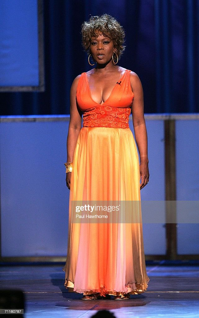 Actress Alfre Woodard appears onstage at the 60th Annual Tony Awards at Radio City Music Hall June 11, 2006 in New York City.