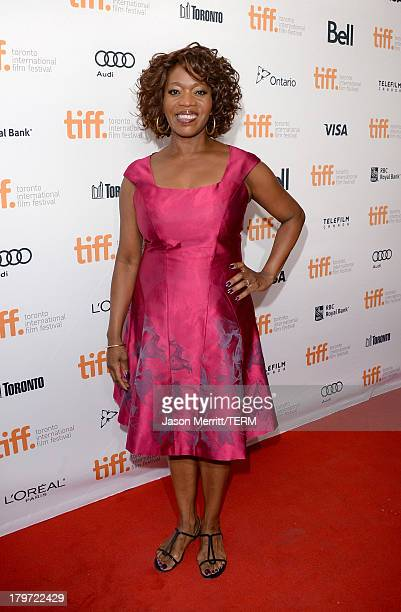 Actress Alfre Woodard arrives at the 12 Years A Slave Premiere during the 2013 Toronto International Film Festival Princess of Wales Theatre on...