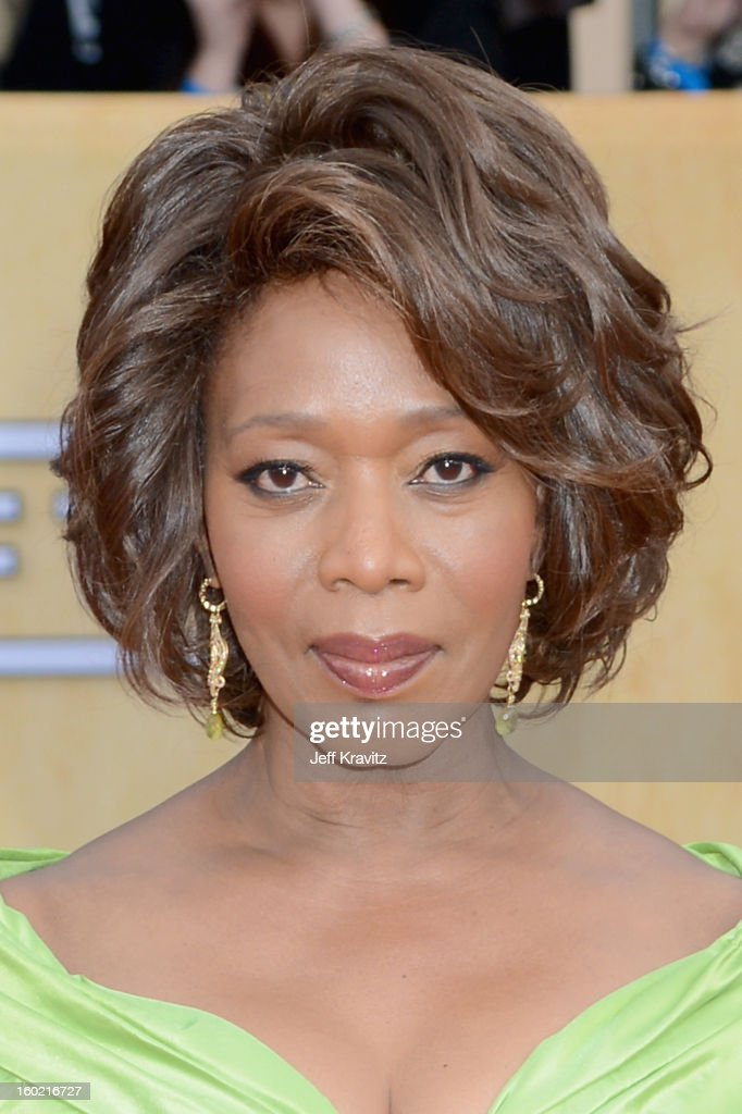 Actress Alfre Woodard arrives at the 19th Annual Screen Actors Guild Awards held at The Shrine Auditorium on January 27, 2013 in Los Angeles, California.
