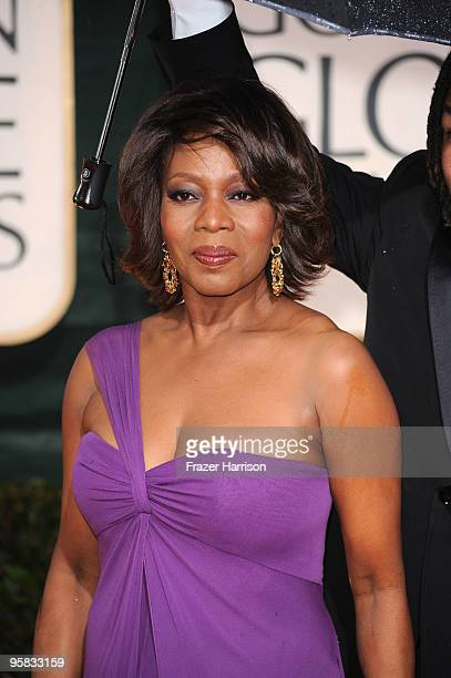 Actress Alfre Woodard arrives at the 67th Annual Golden Globe Awards held at The Beverly Hilton Hotel on January 17, 2010 in Beverly Hills,...