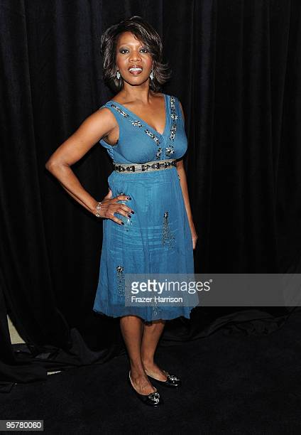 Actress Alfre Woodard arrives at the DIC/InStyle's 9th Annual Awards Season Diamond Fashion Show Preview at the Beverly Hills Hotel on January 14,...