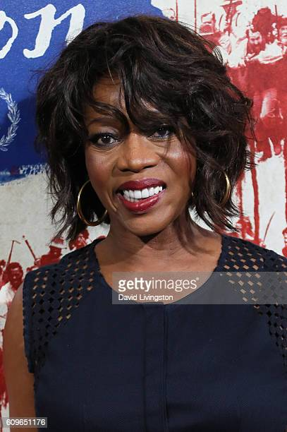 """Actress Alfre Woodard arrives at the Premiere of Fox Searchlight Pictures' """"The Birth Of A Nation"""" at the ArcLight Cinemas Cinerama Dome on September..."""