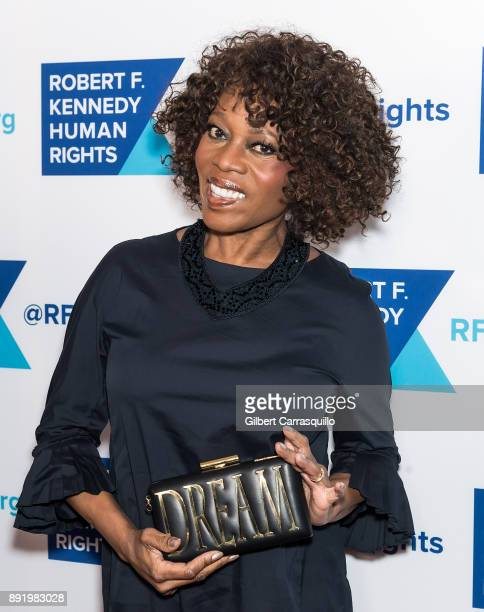 Actress Alfre Woodard attends Robert F. Kennedy Human Rights Hosts Annual Ripple Of Hope Awards Dinner at New York Hilton on December 13, 2017 in New...