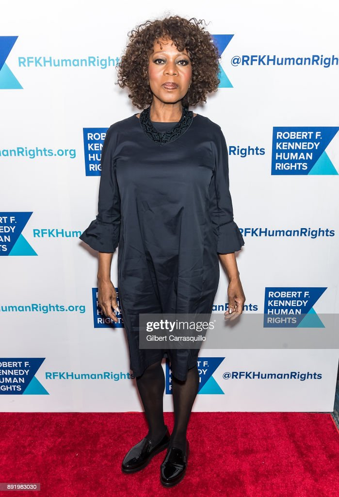 Actress Alfre Woodard attends Robert F. Kennedy Human Rights Hosts Annual Ripple Of Hope Awards Dinner at New York Hilton on December 13, 2017 in New York City.