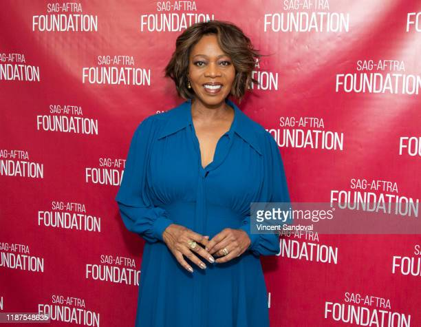 """Actress Alfre Woodard attends SAG-AFTRA Foundation Conversations with """"Clemency"""" at SAG-AFTRA Foundation Screening Room on November 13, 2019 in Los..."""