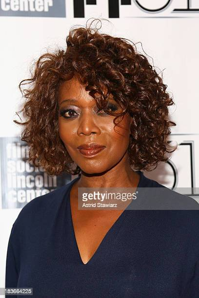 Actress Alfre Woodard attends the 12 Years A Slave premiere during the 51st New York Film Festival at Alice Tully Hall at Lincoln Center on October 8...
