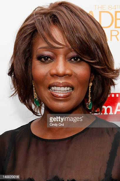 Actress Alfre Woodard attends the 2012 Academy of Motion Picture Arts and Sciences Oscar Night Celebration at the 21 Club on February 26, 2012 in New...