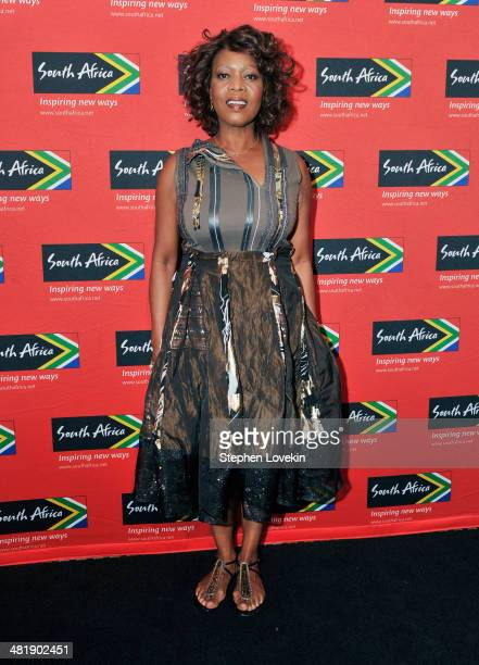 Actress Alfre Woodard attends the 2014 Ubuntu Awards at Gotham Hall on April 1 2014 in New York City