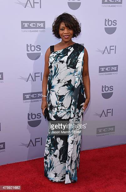 Actress Alfre Woodard attends the 2015 AFI Life Achievement Award Gala Tribute Honoring Steve Martin at the Dolby Theatre on June 4 2015 in Hollywood...