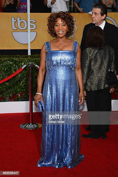 Actress Alfre Woodard attends the 20th Annual Screen Actors Guild Awards at The Shrine Auditorium on January 18 2014 in Los Angeles California