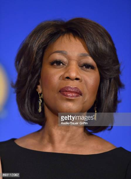 Actress Alfre Woodard attends the 75th Annual Golden Globe Nominations Announcement at The Beverly Hilton on December 11 2017 in Los Angeles...