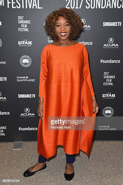 Actress Alfre Woodard attends the 'Burning Sands' Premiere at Eccles Center Theatre on January 24 2017 in Park City Utah